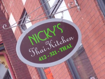 Nicky's Thai Kitchen Pittsburg Restaurant Review