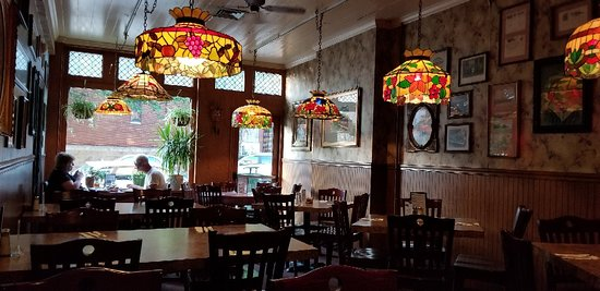 Inside View of Max's Allegheny Tavern Pittsburgh Restaurant