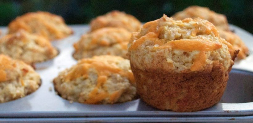 King's Arms Tavern Apple Cheddar Muffins