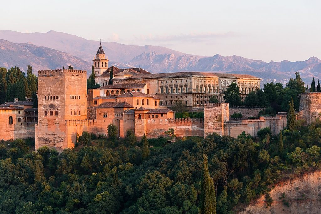 Beautiful Fort of Alhambra