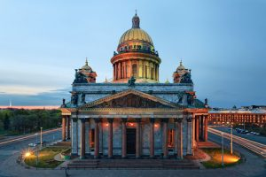 ST. Peterburg Church Smackdown Church of the Savior on Blood